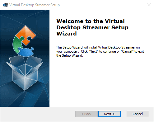 Virtual Desktopをインストールする